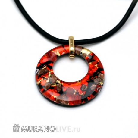 "Подвеска ""Luxury of nature"" red"