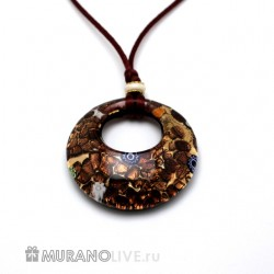 "Подвеска ""Luxury of nature"" brown"