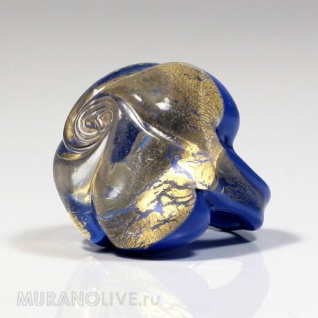 """Кольцо """"Floral mystery"""" blue"""