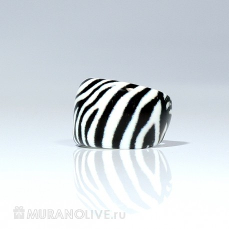 "Кольцо ""Creative zebra print"""