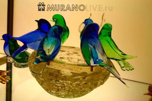 фигурки из итальянского стекла Мурано